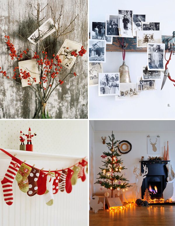 DIY vintage photo display: Better Homes amp; Gardens , Wreath from