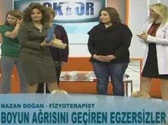 Fizyoterapist Nazan Doğan