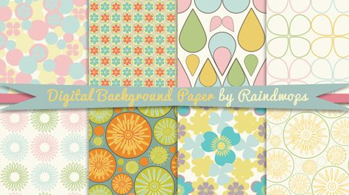 Colorful Digital Paper Background