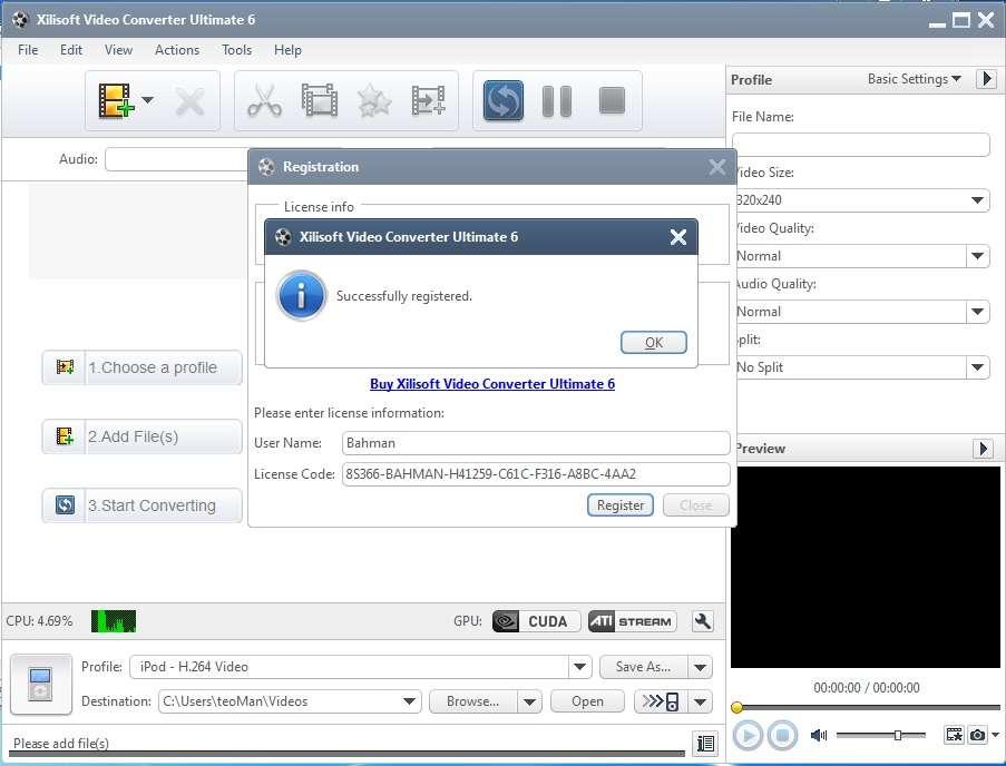 Название Xilisoft DVD Ripper Ultimate 6.8.0 build 1101 Разработчик