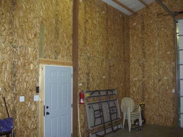 Steel Building Interior Walls Bonus Pics Of Almost